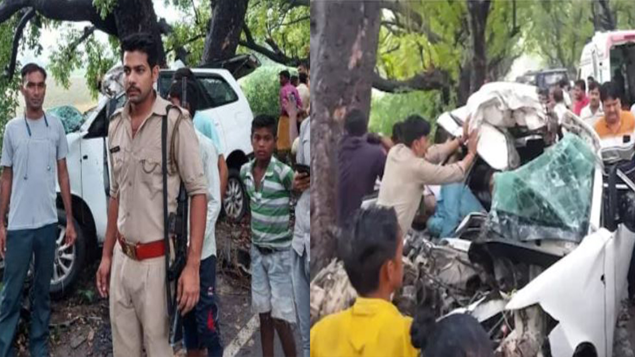Four including the groom died in Kasganj car accident